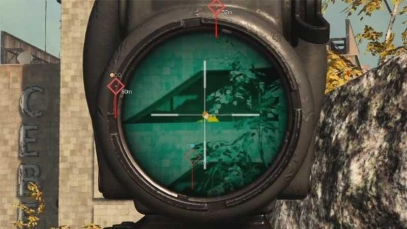 quickscope call of duty modern warfare warzone