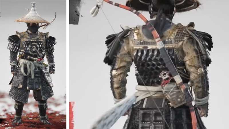 Sakai Clan Armor Ghost of Tsushima