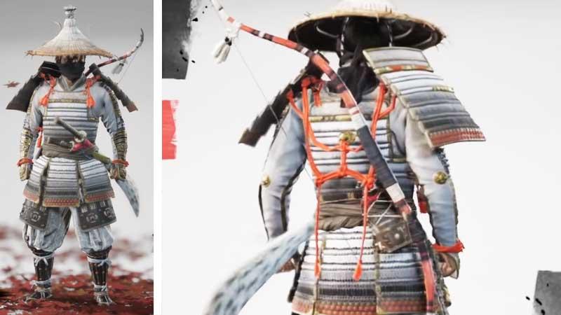 Ghost of Tsushima Samurai Clan Armor