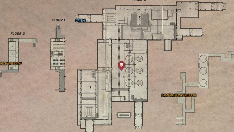 Tarkov Factory Map Tagilla Boss Location