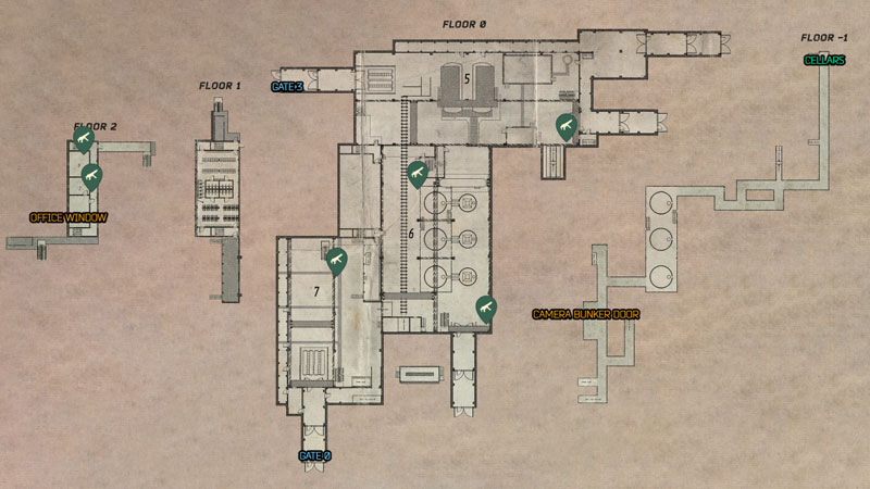 Tarkov Factory Map Weapons Location