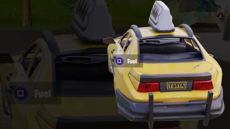 Fortnite Car