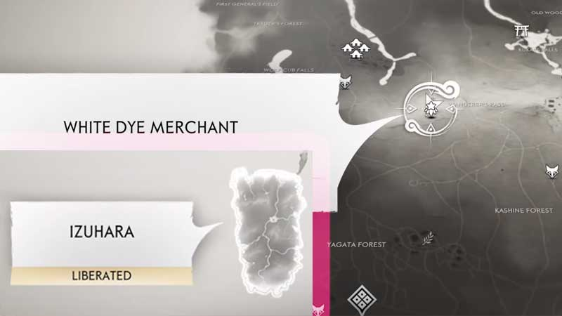 Ghost of Tsushima White Dye Merchant