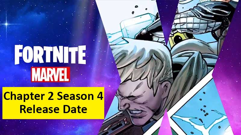 Fortnite Chapter 2 Season 4 Release Date and Time