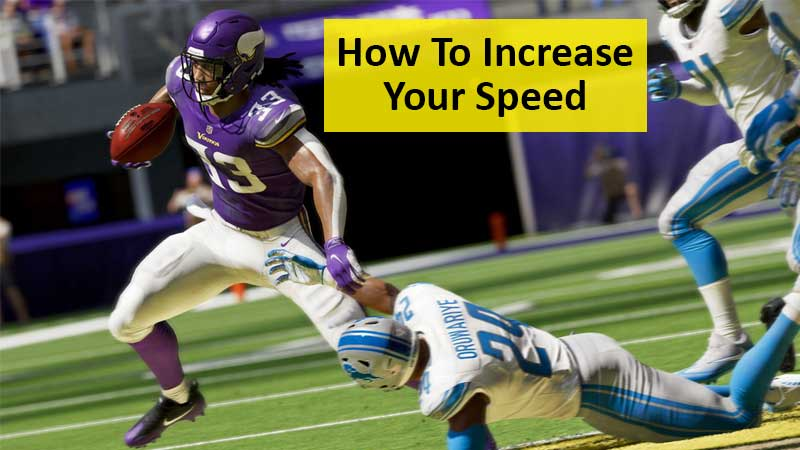 How To Increase Your Speed Sprint Run Faster In Madden 21