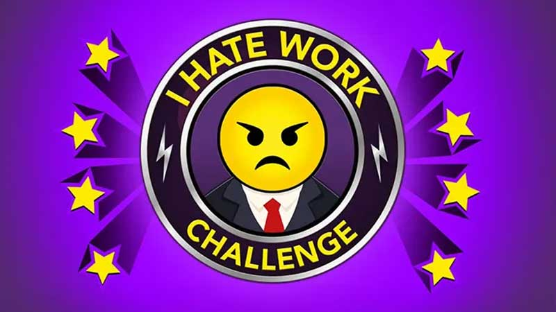 How to complete I hate work challenge in BitLife