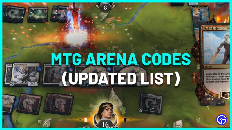 MTG arena codes redeem