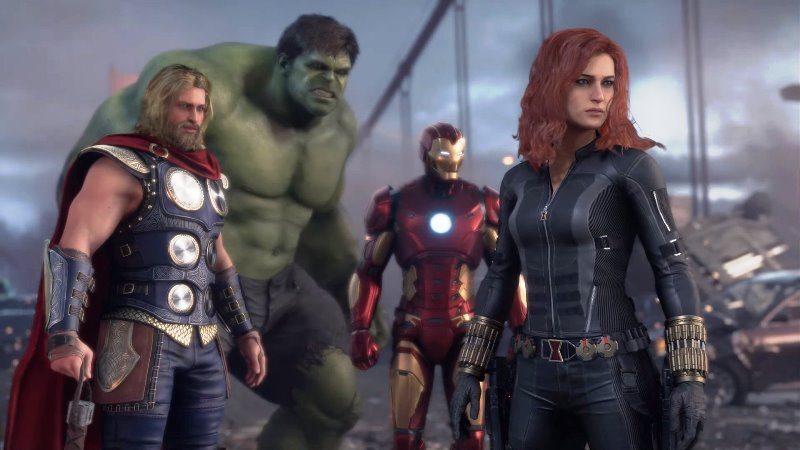 Marvel's Avengers Day One Patch