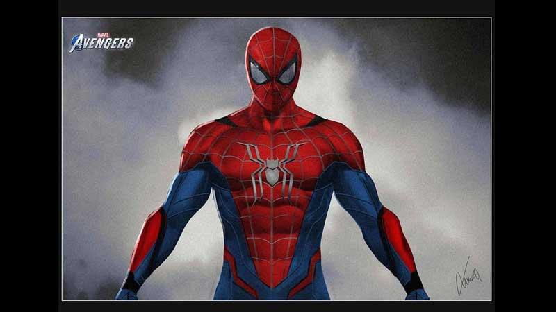 Marvel's Avengers Spider-Man Design Possibly Leaks