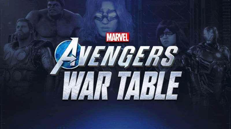 Marvel's Avengers Third War Table