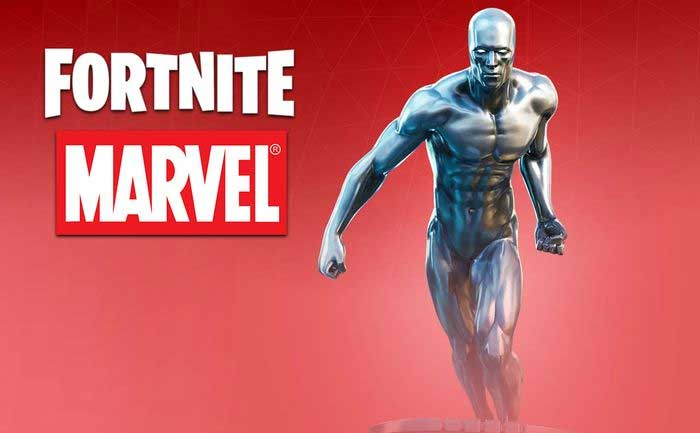 Silver Surfer Fortnite Skin leaked