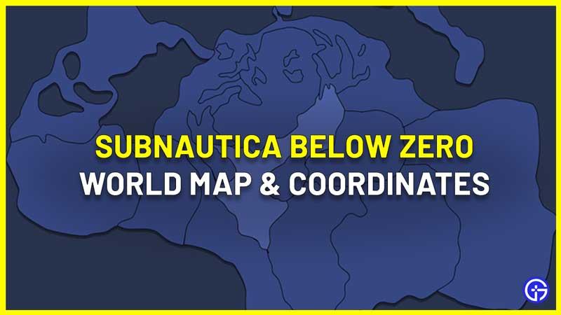 subnautica below zero map guide