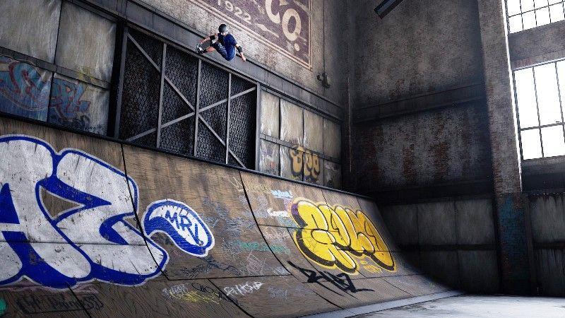 Tony Hawk Pro Skater 1 + 2 Warehouse demo