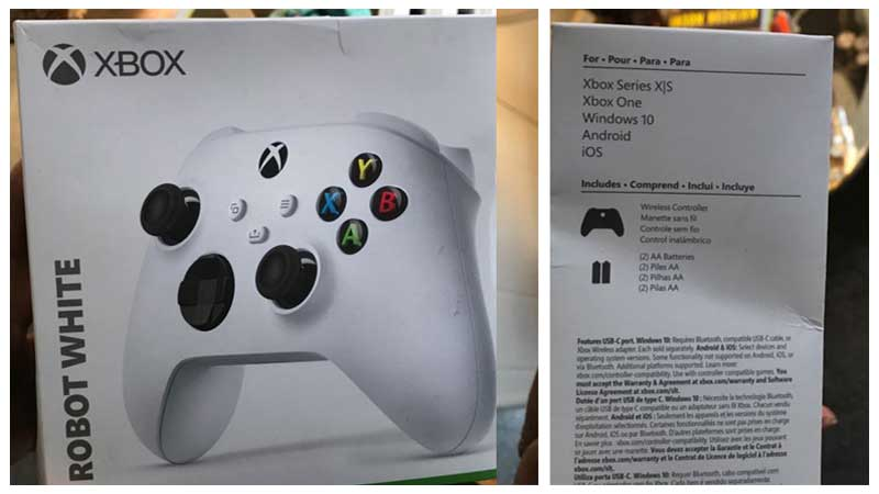 Xbox Series S Confirmed With Leaked White Controller