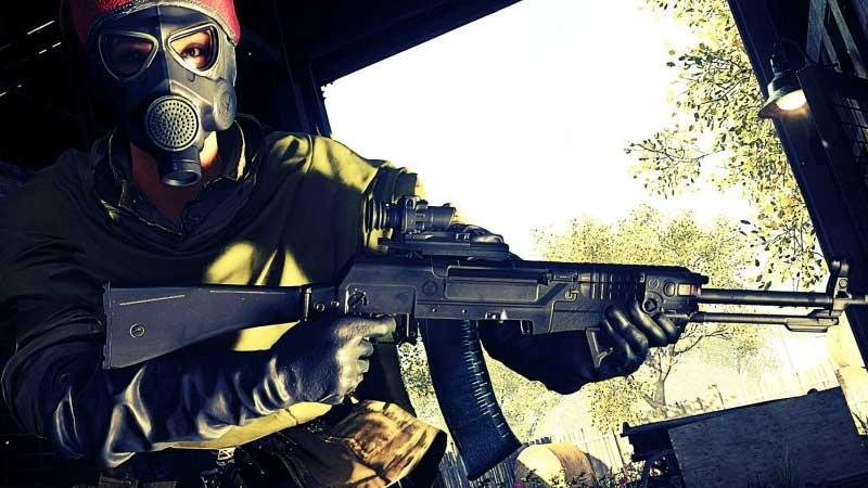 an 94 assault rifle