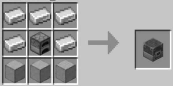 Minecraft Blast Furnace Recipe