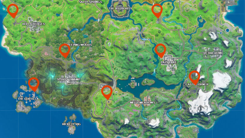 Fortnite Gas Station Location