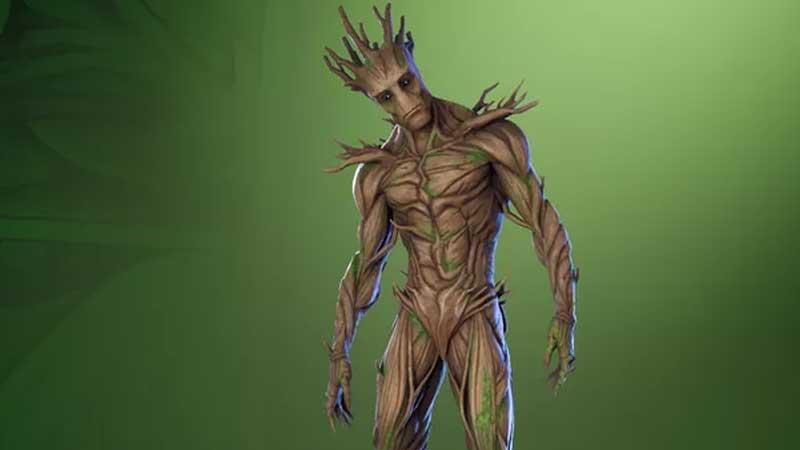 Groot Skin Unlck - Fortnite Season 4