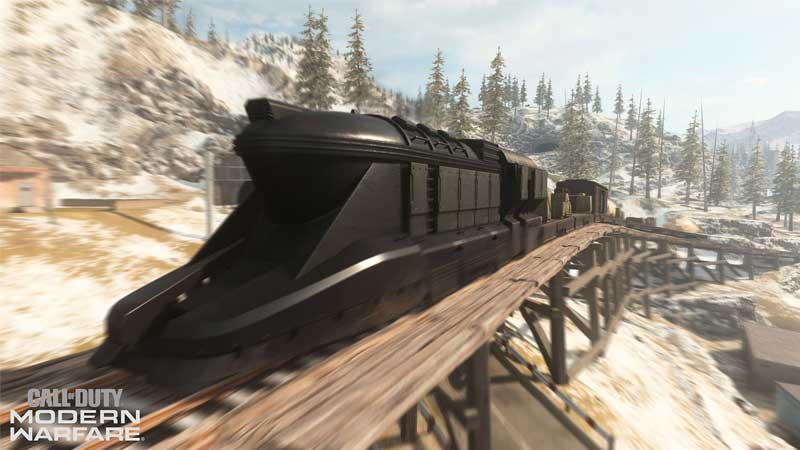 how to find train call of duty warzone