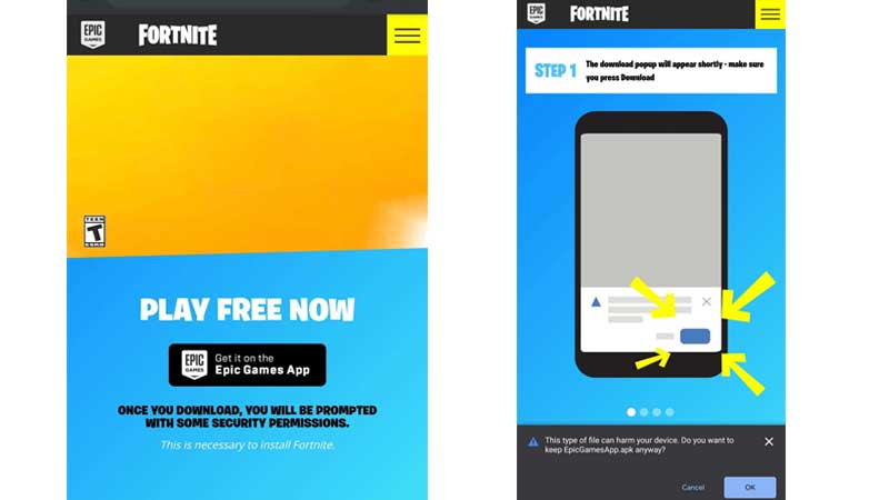 install-fortnite-mobile-without-play-store
