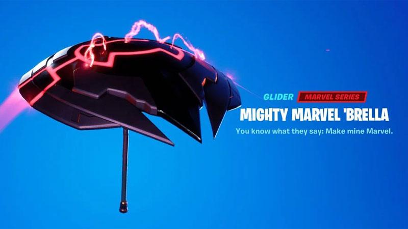 marvel glider fortnite