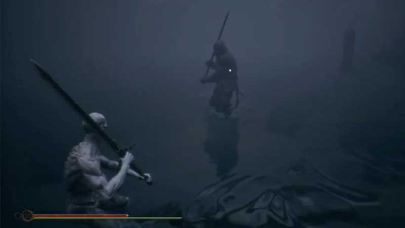 Mortal Shell Hadern Boss Fight