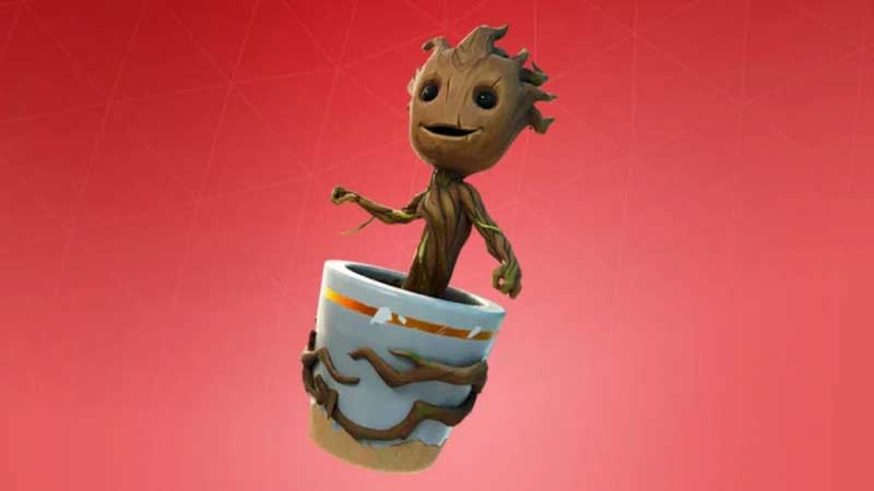 Fornite Part 4 Sapling Groot