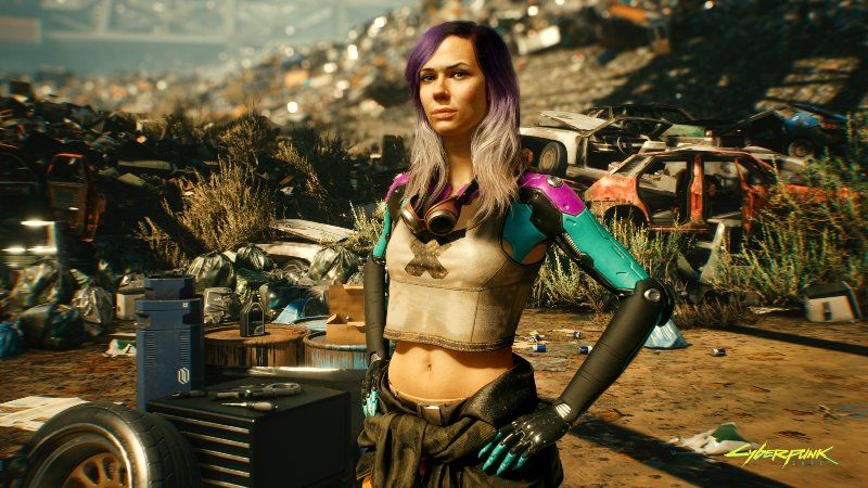 Cyberpunk 2077 Features Alanah Pearce