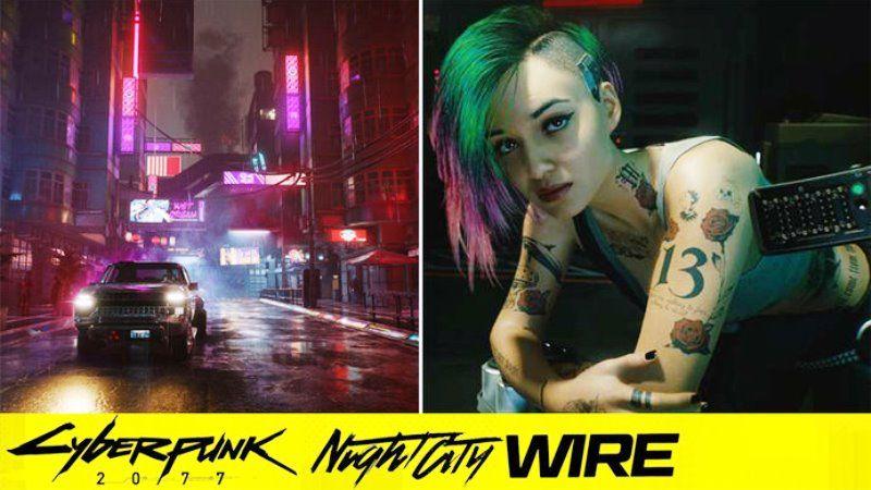 Cyberpunk 2077 Night City Wire