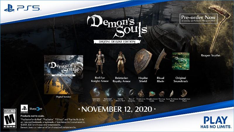 Demon's Souls Remake Digital Deluxe Edition