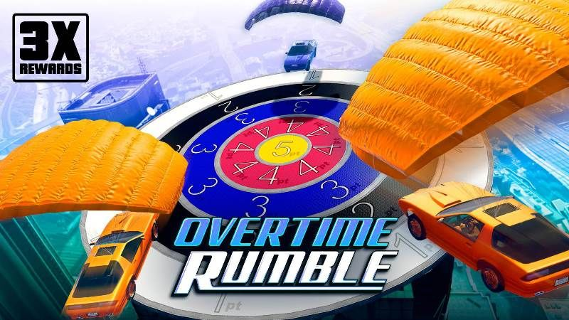 GTA Online Triple Rewards Overtime Rumble