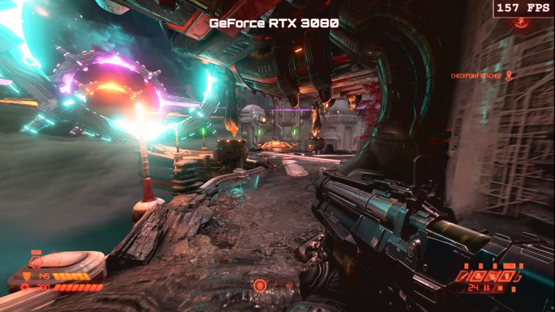 GeForce RTX 3080 Beats RTX 280 Ti in Doom Eternal