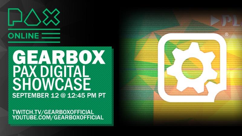 Gearbox Digital Showcase Announced