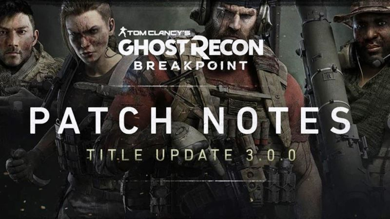 Ghost Recon Breakpoint Update 3.0