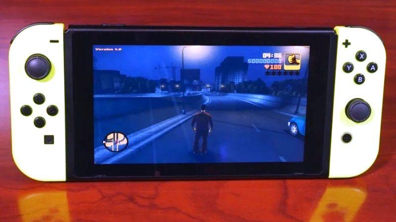 Grand Theft Auto III Nintendo Switch