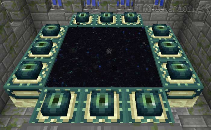 How To Make End Portal In Minecraft