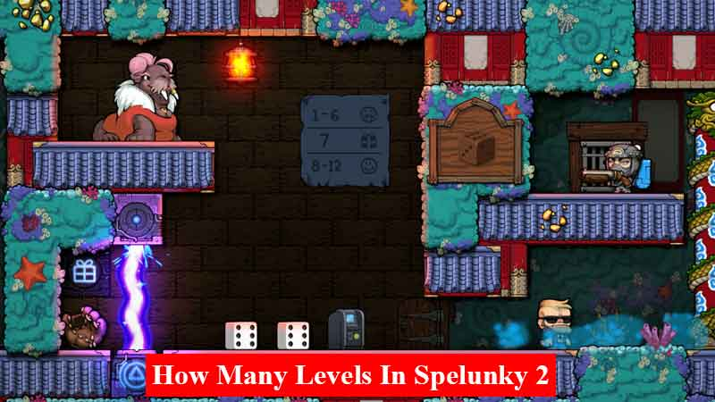 How many levels in Spelunky 2