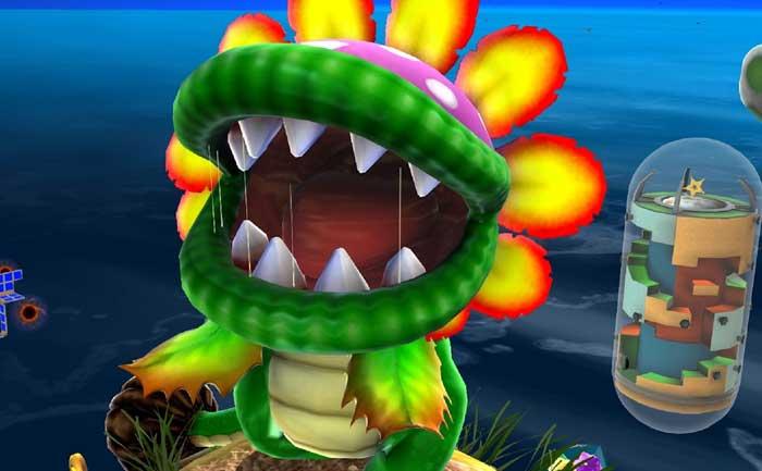 How to beat Dino Piranha Super Mario Galaxy