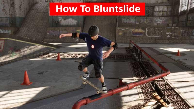How to bluntslide in Tony Hawk's Pro Skater 1 + 2