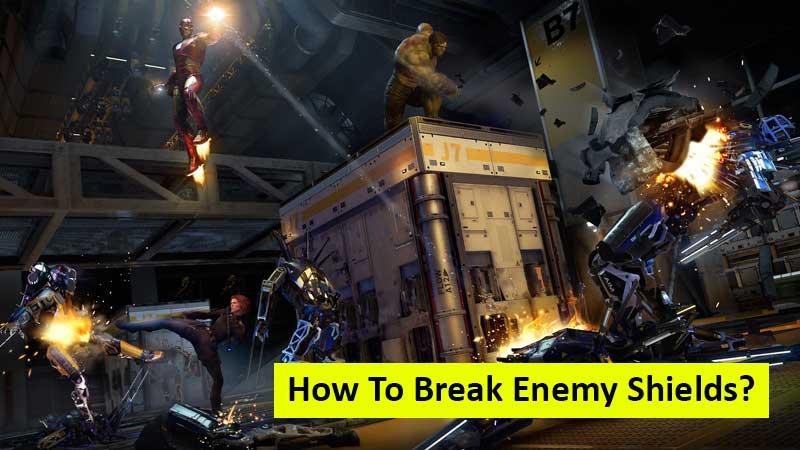 How to break enemy shields in Marvel's Avengers