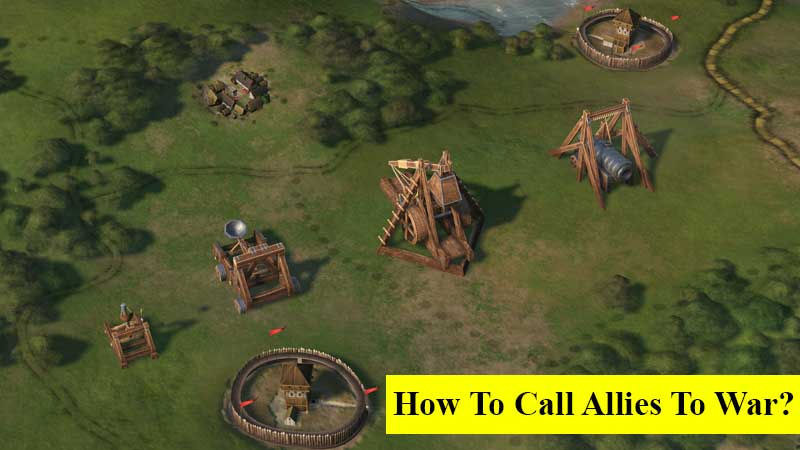 How to call allies to war in Crusader Kings 3