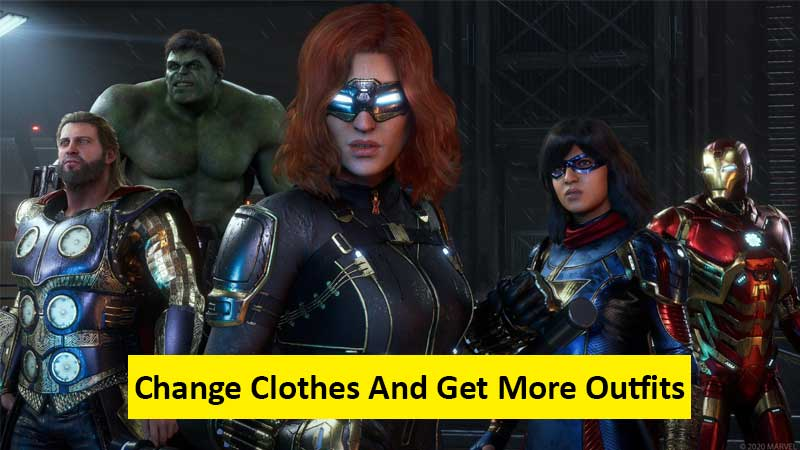 How To Change Clothes And Get More Outfits In Marvel's Avengers