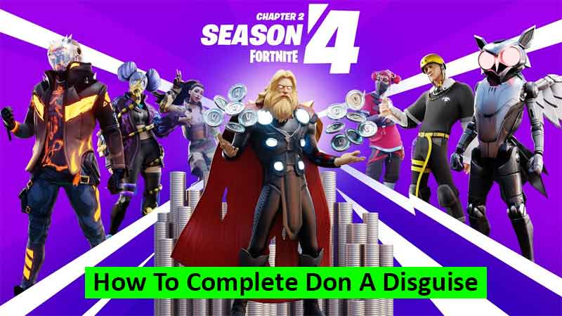 How to complete Don a Disguise challenge in Fortnite