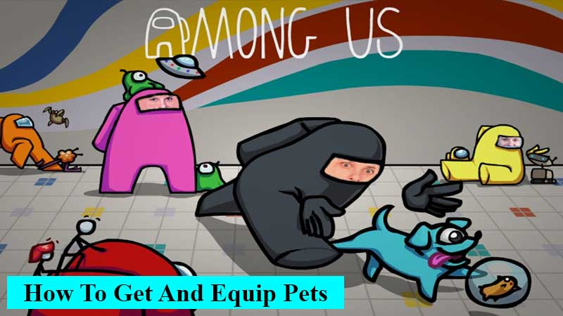 How to get and equip pets in Among Us