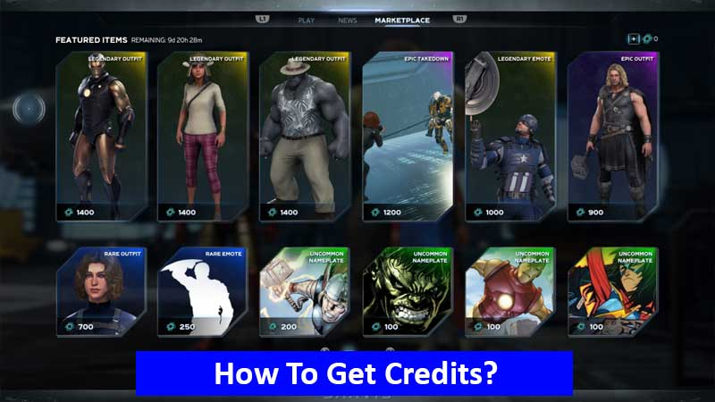 How to get credits in Marvel's Avengers