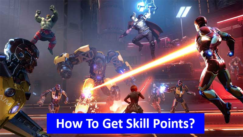 How to get skill points in Marvel's Avengers