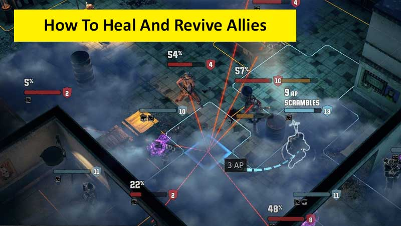 How to heal and revive allies in Wasteland 3