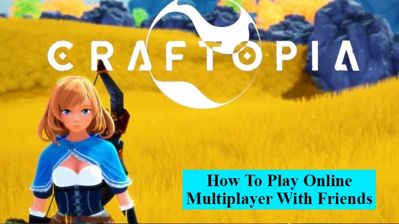 How to play online multiplayer with friends in Craftopia