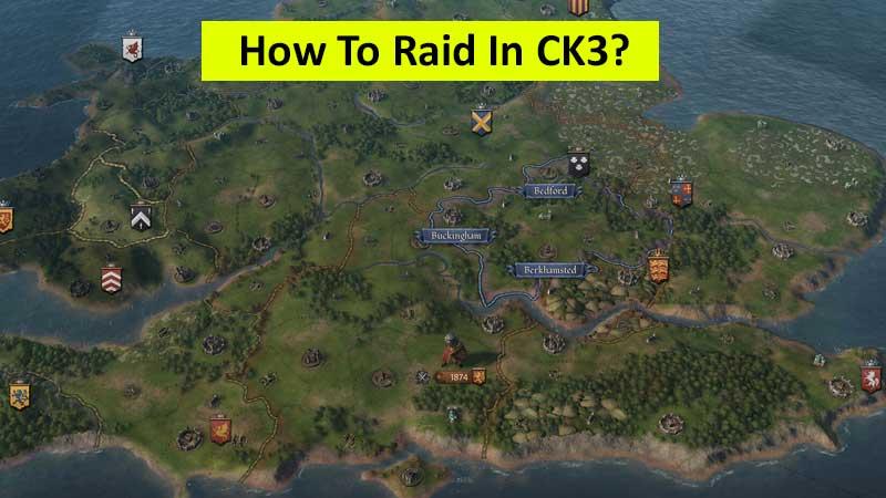 How to raid in Crusader Kings 3