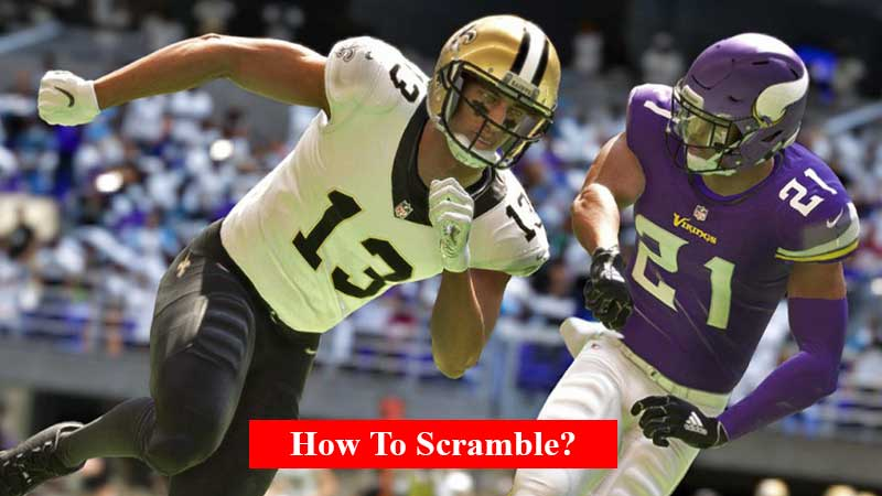 How to scramble in Madden 21